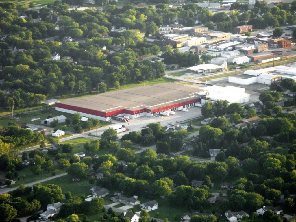 Aerial Photo of Laurens Jack Links facility