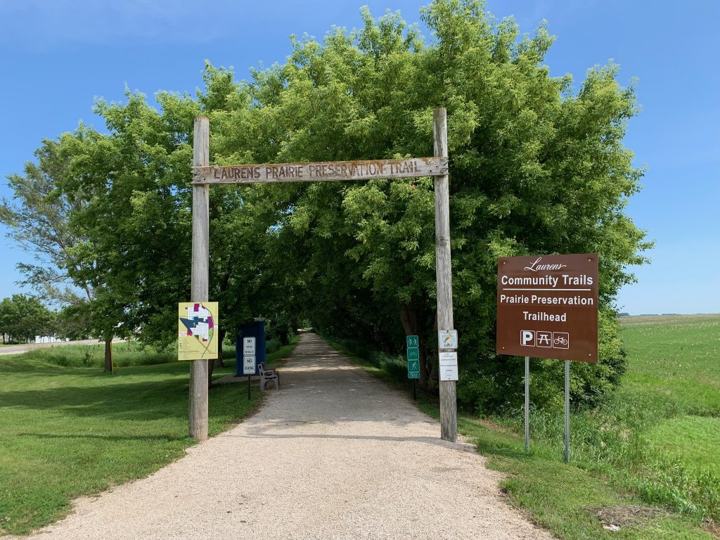 Laurens Prairie Preservation Trailhead